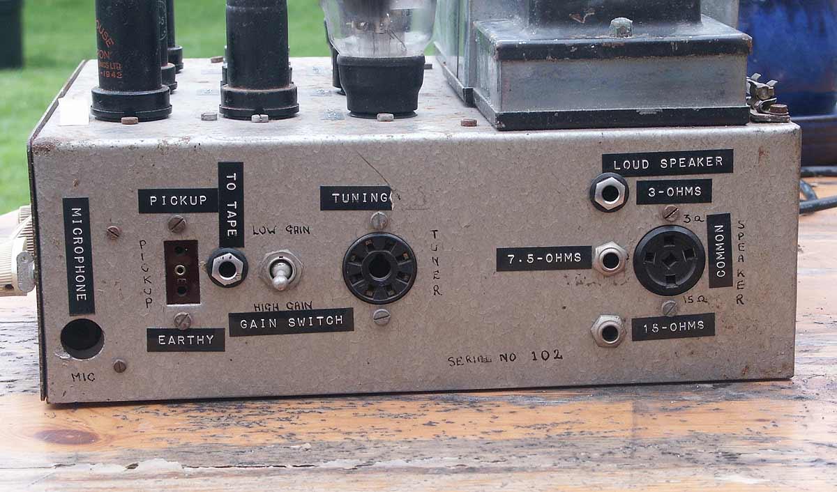Concert Master Vintage Valve (Tube) Amplifier