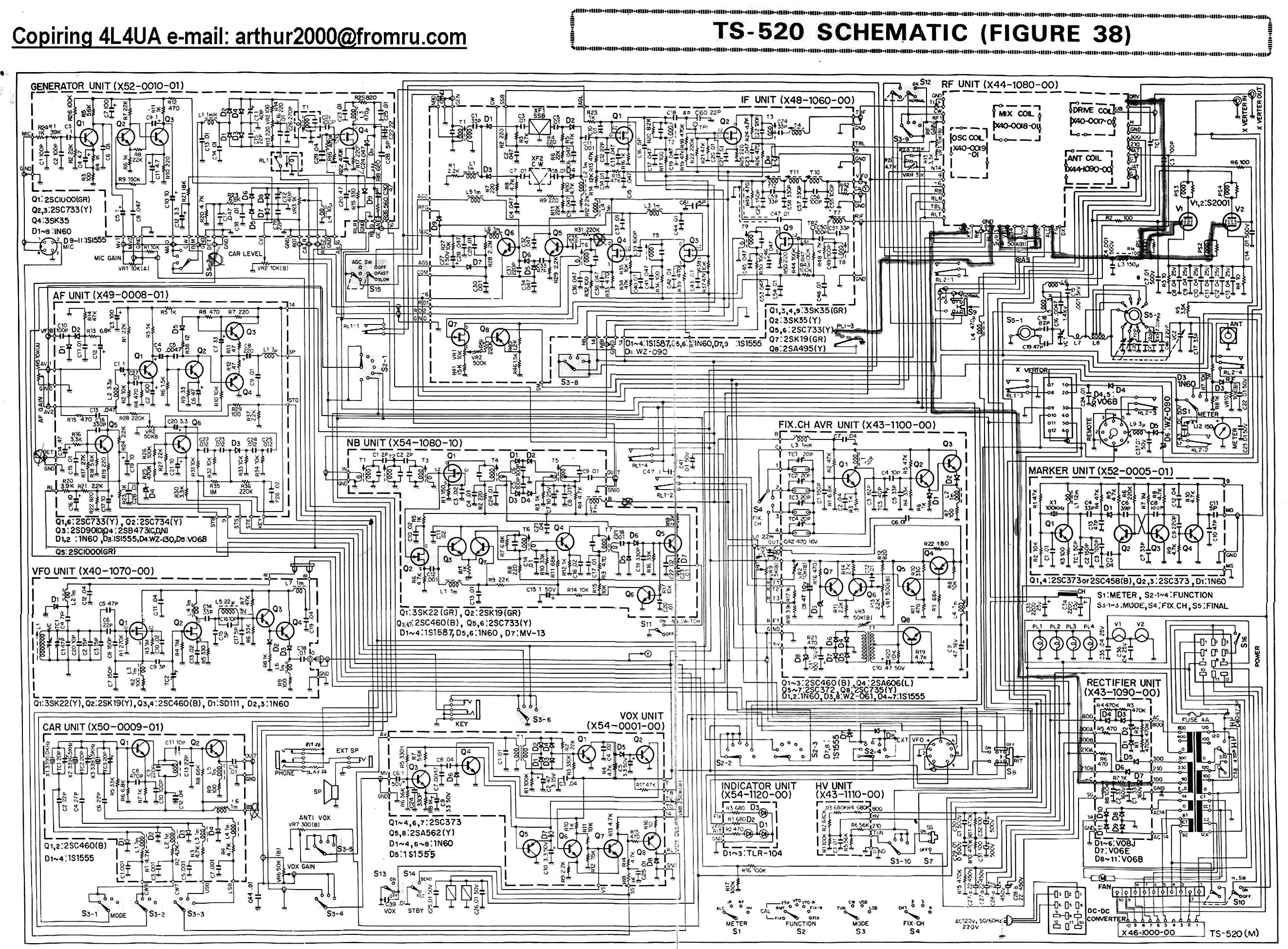 Shure 444 Microphone Wiring Diagram Free Picture Starting Know Cobra Power Mic Kenwood Ts 520s Schematic Get Image About