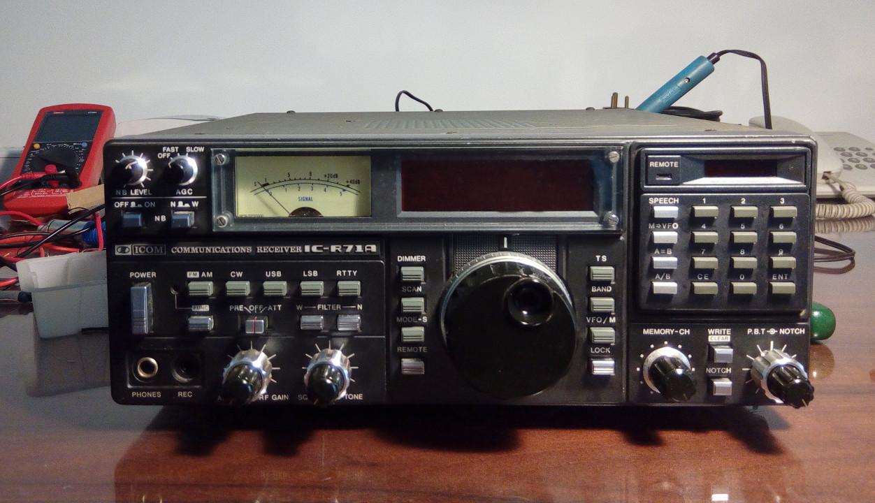 ICOM IC-R71A receiver restoration