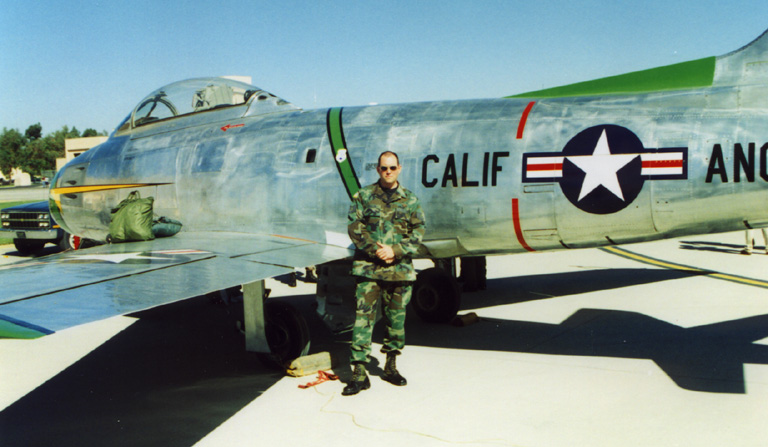 Michael Dorn's (Lt. Worf) F-86