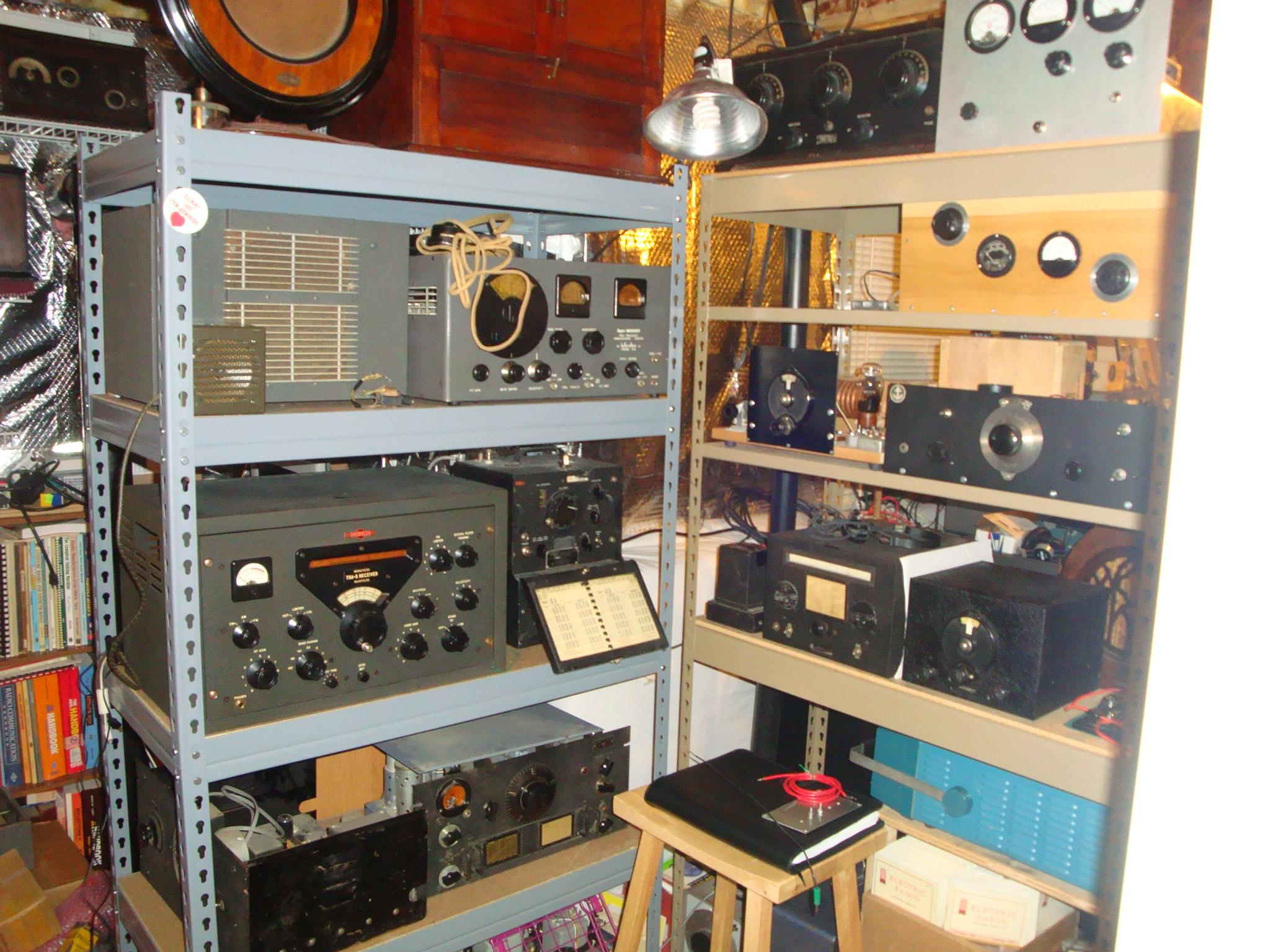 Amateur Radio Station Wb4omm: 2009 Radio Room
