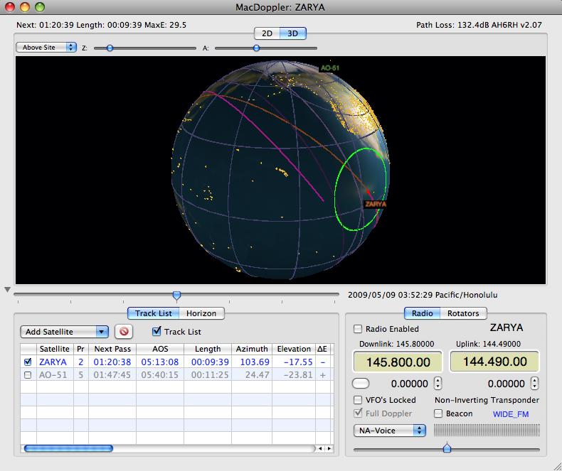 Prompt ham radio satellite tracking antenna was