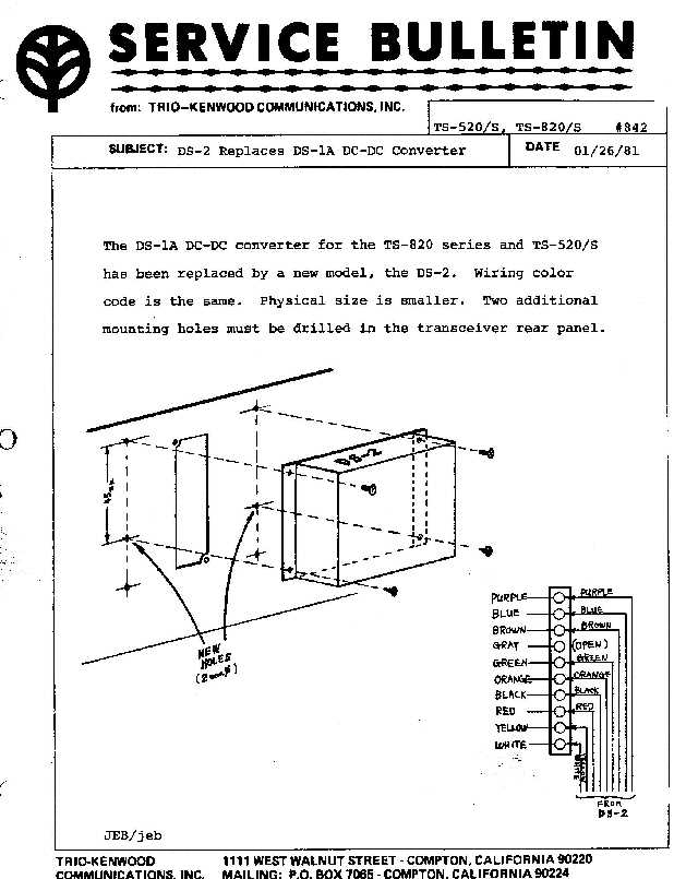 ASB0842 kenwood amateur radio service bulletins by model numbernote Single Phase Transformer Wiring Diagram at webbmarketing.co