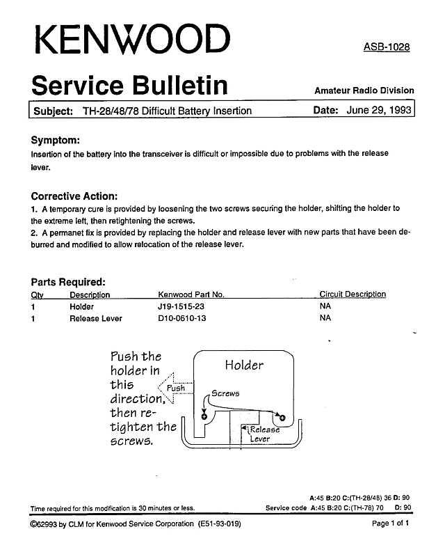 Miraculous Kenwood Amateur Radio Service Bulletins By Model Numbernote Wiring Cloud Hisonuggs Outletorg