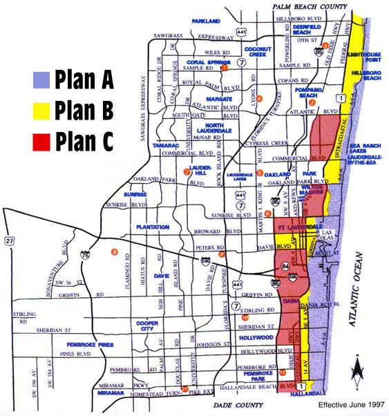 hurricane evacuation map