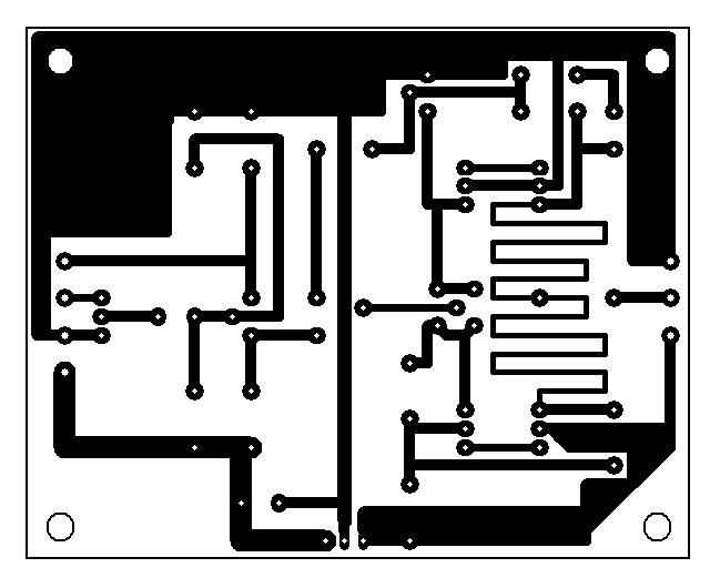Circuito Impreso De Amplificador De 3000w : L w pcb