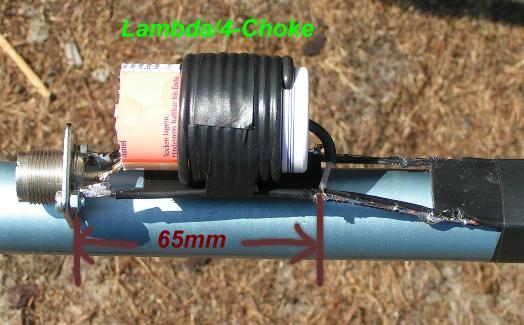 Simple 50MHz-J-Pole-Antenna