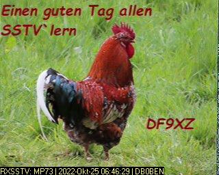 7th previous previous RX de DG8YFM