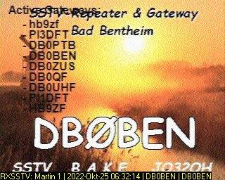 8th previous previous RX de DG8YFM