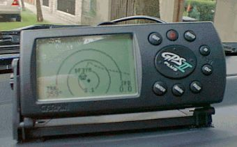 I Use The Garmin Gps Ii Plus Which Has A Switchable Display So It Can Be Operated Vertically And Horizontally