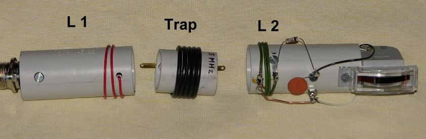 Trap traps sperrkreis trap tuning coax trap coaxial for Trap 2 meter