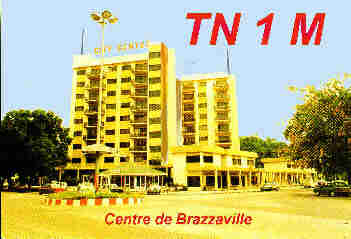 In the Center of Brazzaville (Congo)