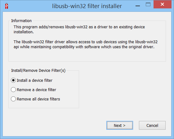 Installing libusb-win32 and PyUSB for MD380 / Retevis RT3