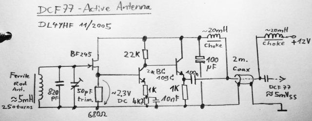 Dcf77 receiver