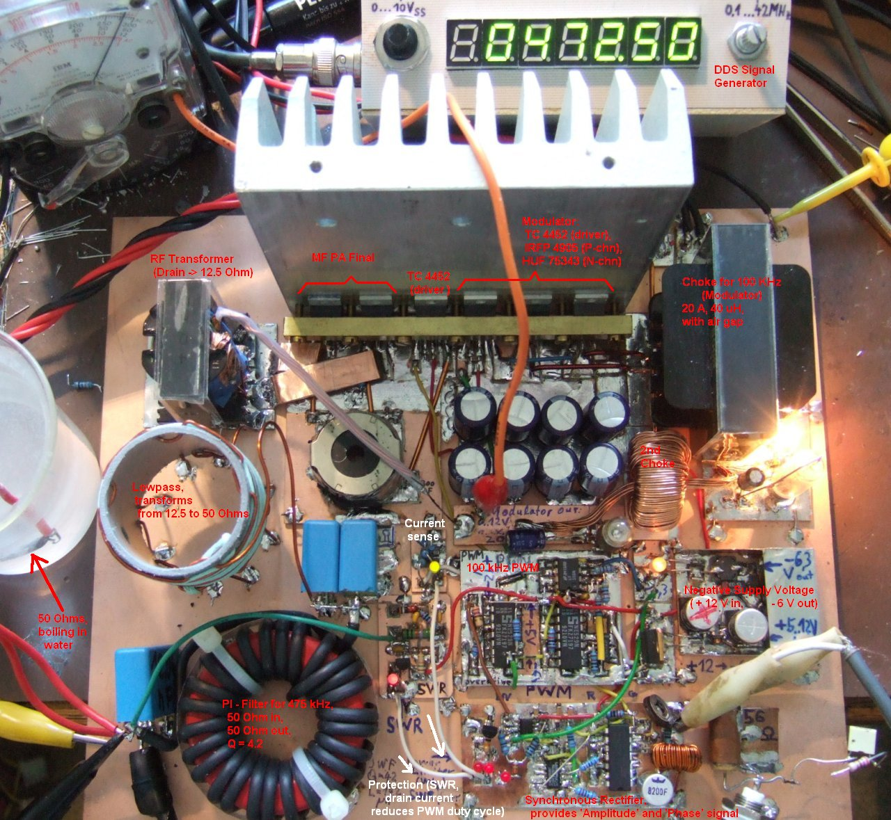 Amateur Radio Activiy on the 630 meter band (Medium Frequency)