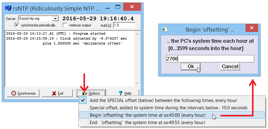Ridiculously Simple NTP Client