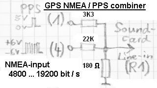 Passive Combiner Circuit For Gps Pps And Nmea