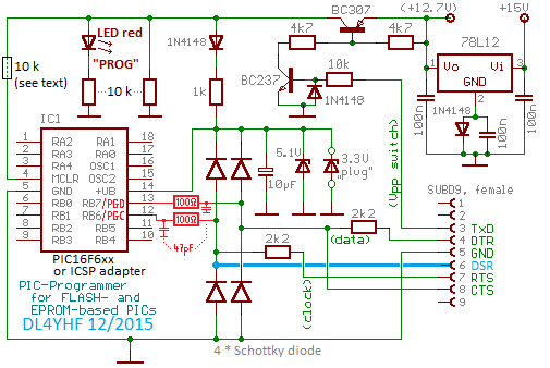 circuit diagram simple pic programmer for windows help index