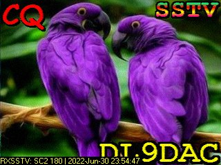 3rd previous previous RX de DL9DAC
