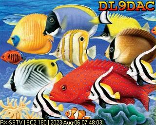 7th previous previous RX de DL9DAC