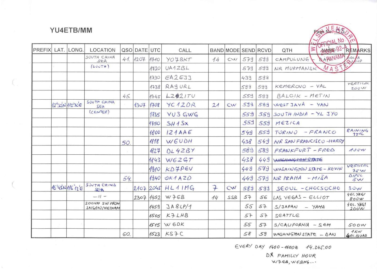 e78cb amateur radio station