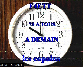 22-Oct-2021 17:57:06 UTC de F6IKY