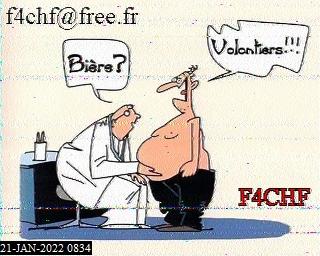 8th previous previous RX de F6IKY