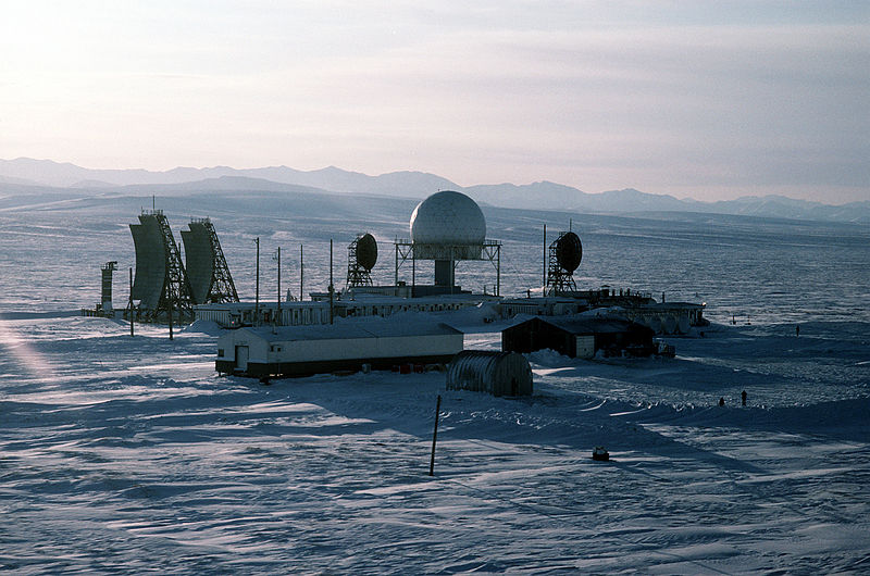 DEWLine station in Alaska