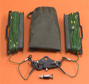 Racal Military tactical adjustable wire dipole 1.6-30 MHz