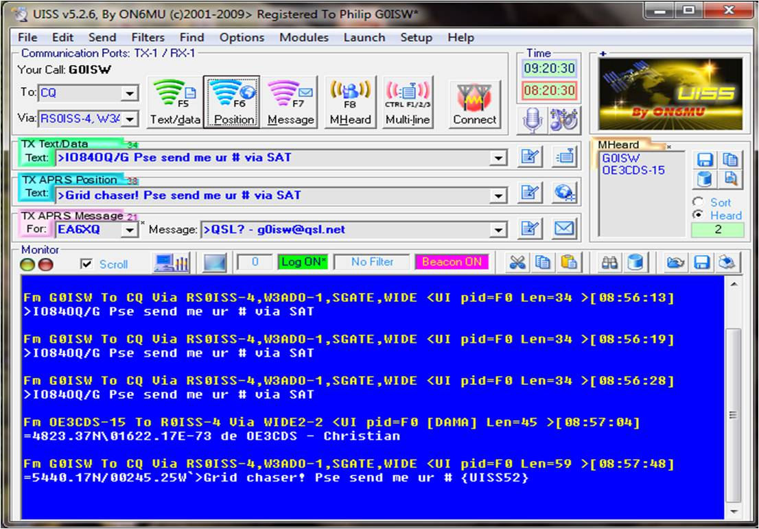 UISS software
