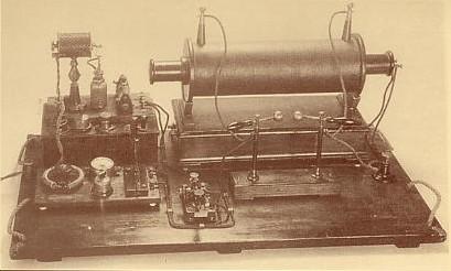 Marconi transmitter c.1897