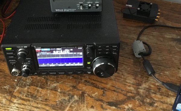 IC-7300 A Wsprers View