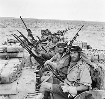SAS patrol North Africa WW2