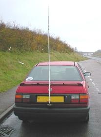 Antenna meter Hustler 10