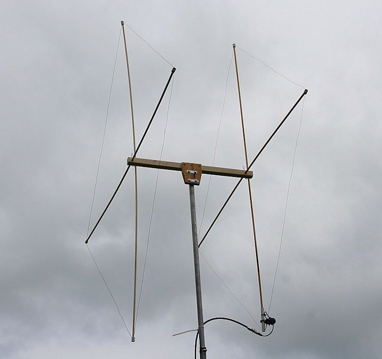 Meter Element Quad Antenna : resource detail - The m