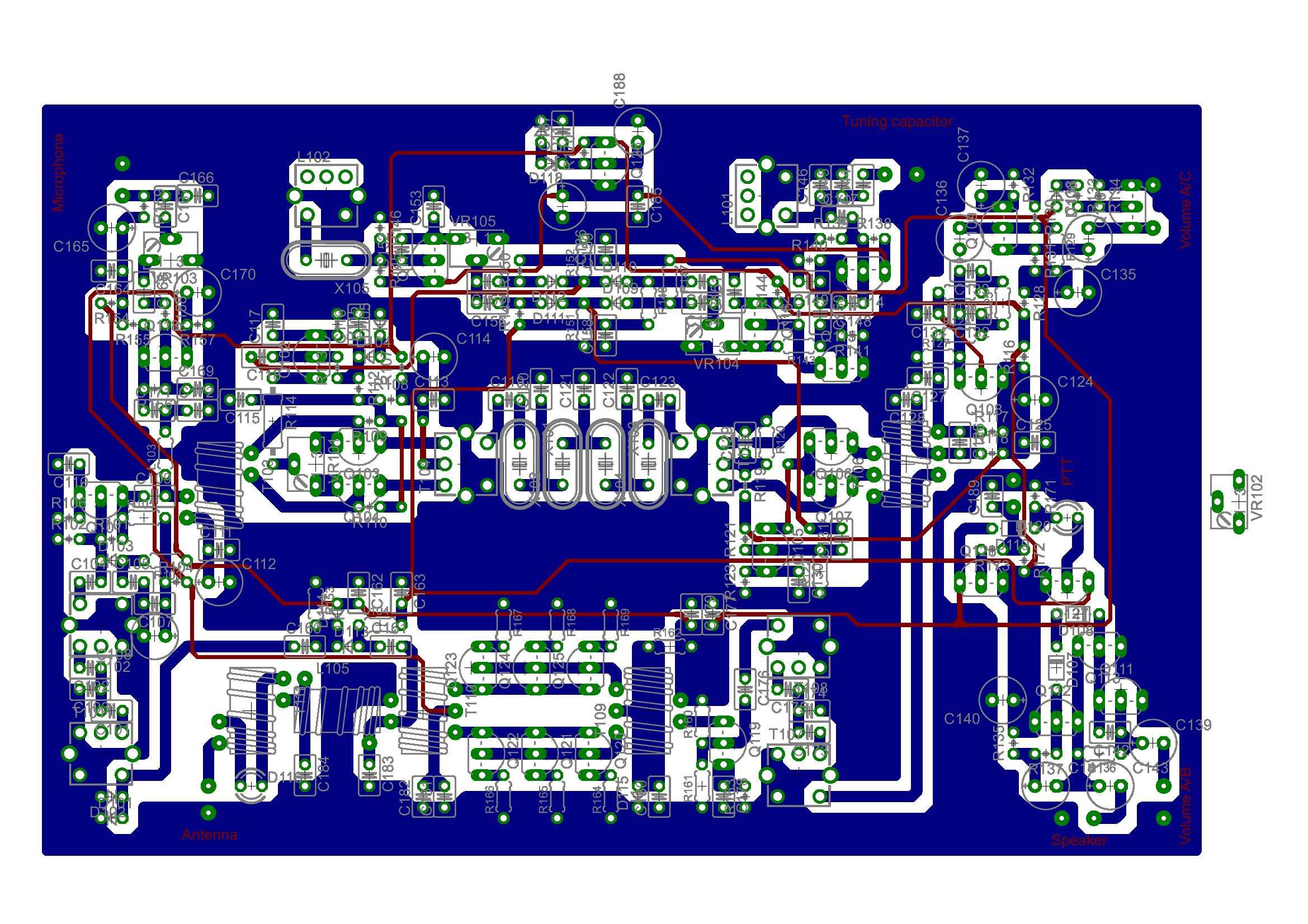 Home Design With Layout All Transistor Bc547 Ssb Hf Txcvr Pcb Layout Presentations I Am Unit