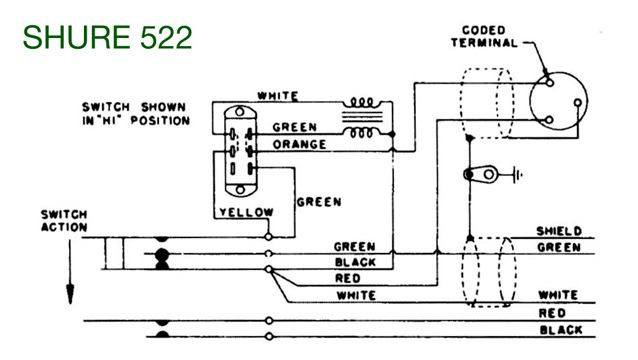 shure desk mic model number 522 | qrz forums model t wiring diagram mtfca teaberry model t wiring diagram microphone #7