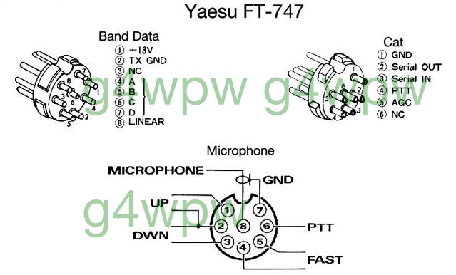 [SCHEMATICS_43NM]  PLEASE NOTE ! | Kenwood Mc 42s Mic Wiring Diagram |  | www.w9dup.org