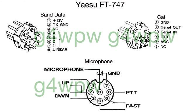747 Yaesu Ft Rh Mic Wiring Diagram on
