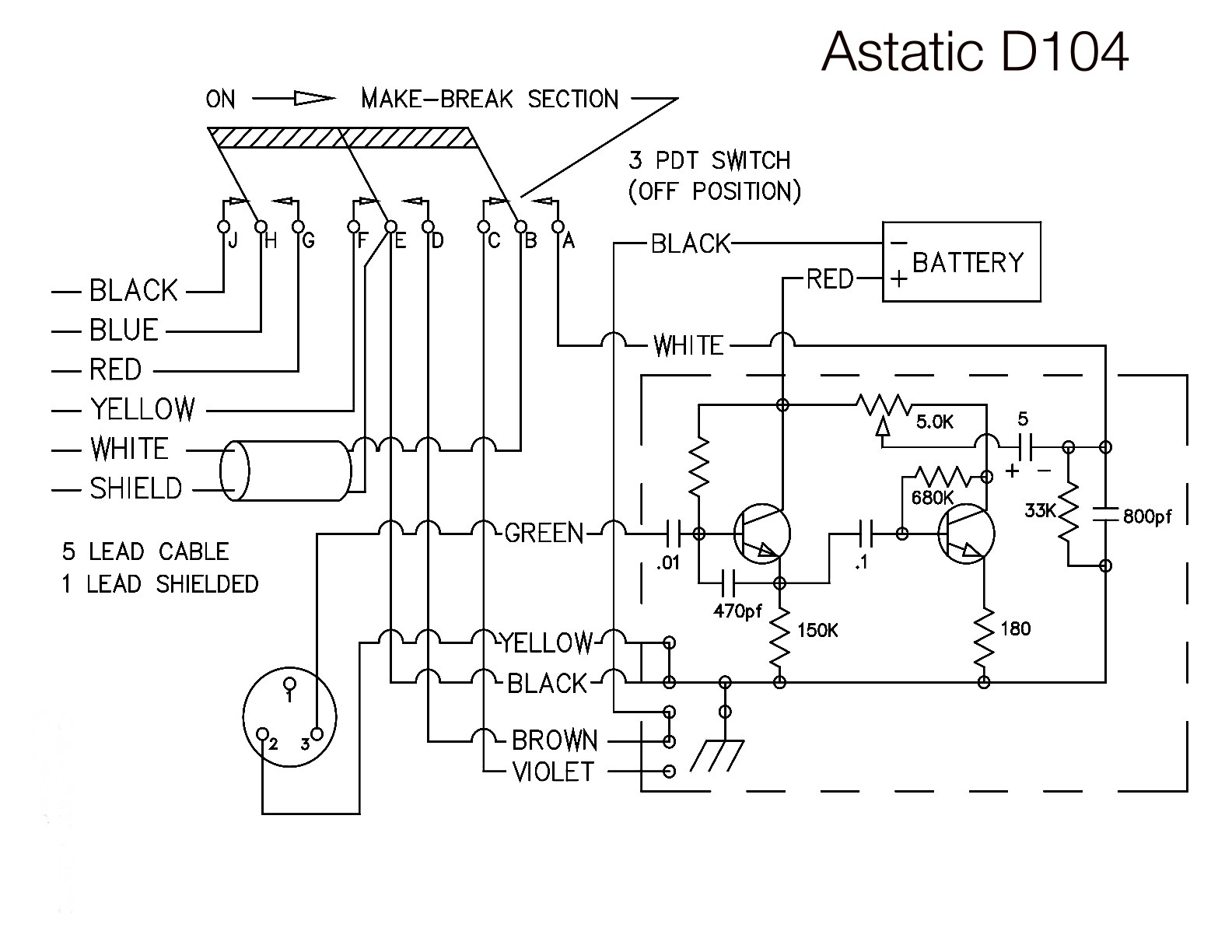 d104 astatic d104 wiring for icom radios astatic d104 wiring diagram