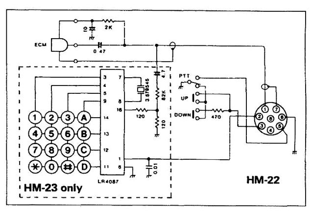 hm22 date icom hm-152 microphone wiring diagram at couponss.co