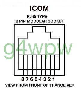 date rh qsl net  icom speaker mic wiring diagram