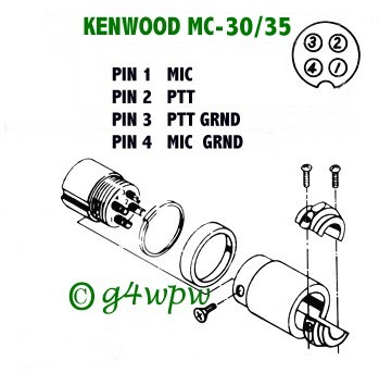 [SCHEMATICS_4FD]  date | Kenwood Mc 42s Mic Wiring Diagram |  | QSL.net