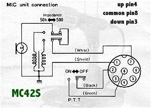 mc42s kenwood mc 42s mic wiring diagram wiring diagram midoriva Kenwood Wiring Harness Diagram at suagrazia.org