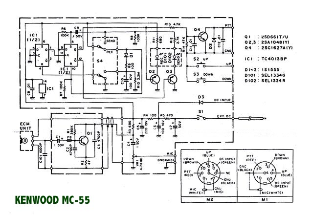 Kenwood Mc55 Microphone: Ford Kw2000 Wiring Diagram At Anocheocurrio.co