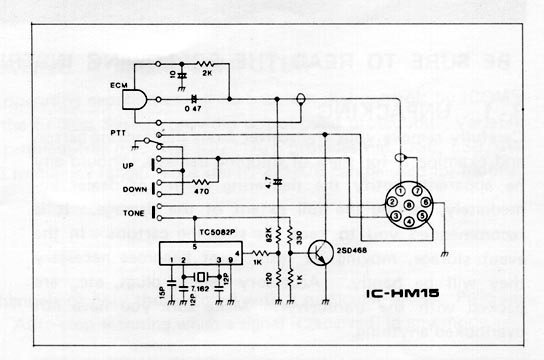 sm15 date icom hm-152 microphone wiring diagram at couponss.co
