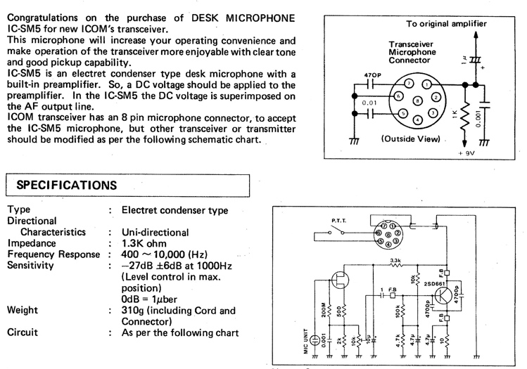 Icom Speaker Mic Wiring Diagram: sm5.jpgrh:qsl.net,Design