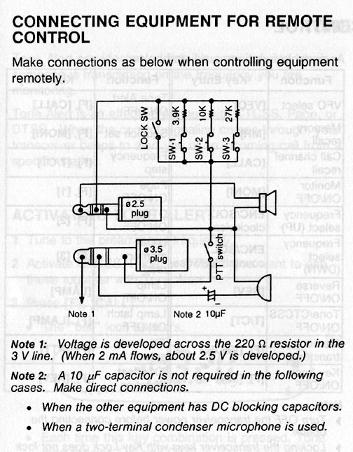 th22a  Kenwood Microphone Wiring Diagram on