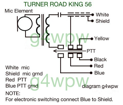 please note !  at Wiring Diagram For Turner M 38 Hand Mike