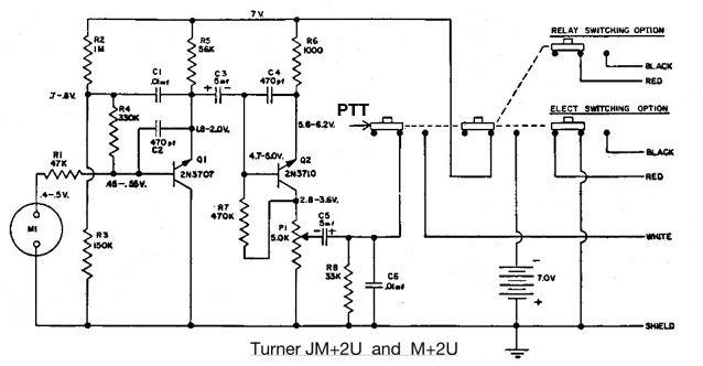 Microphone Wiring Diagram Moreover Turner Road King Mic Wiring Diagram